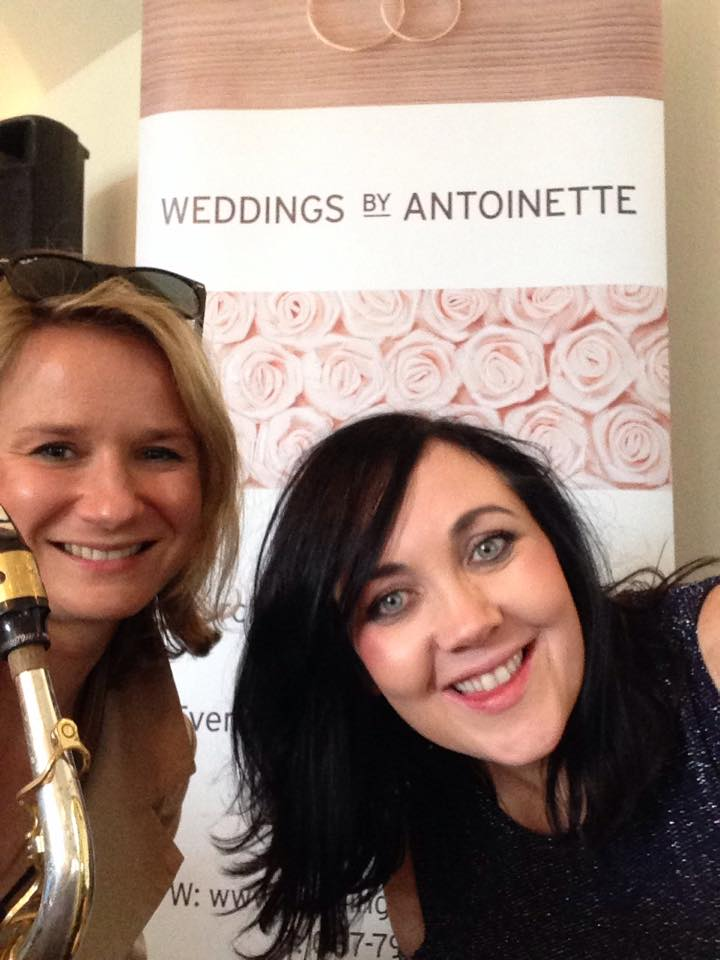 Wedding singer Antoinette, wedding ceremony song suggestions